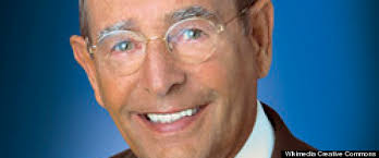 Rich DeVos, a winner's smile.