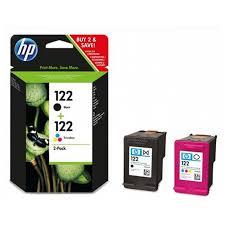 Набор <b>HP CR340HE</b> 122 Black+Tri-colour - купить, цена ...