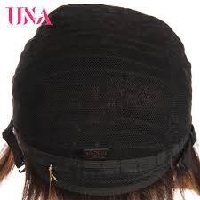 <b>UNA</b> Remy Brazilian Straight <b>Human Hair Wigs</b> For Women 120 ...