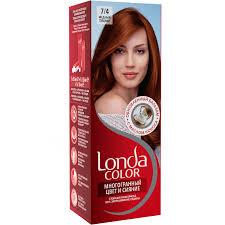 Купить <b>Краска</b>-<b>крем д/волос LONDA</b> COLOR стойкая 7/4 Медный ...