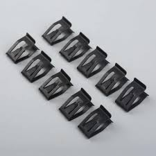 10Pc Auto Metal <b>Trim</b> Interior <b>Panel</b> Lining <b>Clip</b> Interior Upholstery ...