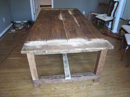 pedestal trestle dining table