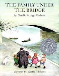 family under the bridge, natalie savage carlson, paris, hobo, gypsies