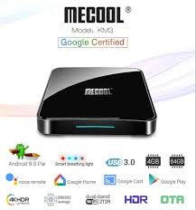 <b>MECOOL KM3 Google</b> Certified Android 9.0 Pie <b>ATV</b> Android TV ...