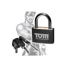<b>Tom of Finland</b> Metal <b>Lock</b> - <b>замок</b>