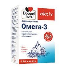 <b>Доппельгерц Актив Омега</b>-<b>3</b> 1186 мг капсулы, <b>120</b> шт. - купить ...