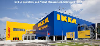 unit operations project management assignment ikea hnd