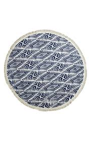 designer towels the beach people paradis round beach towel