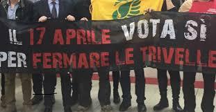 Risultati immagini per immagini referendum petrolio legambiente