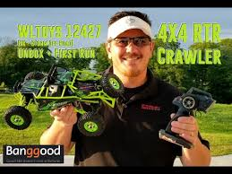 <b>WL TOYS 12427 Rc</b> Rock Crawler   Unboxing & Offroad Testing ...