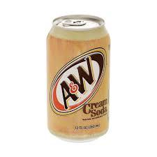<b>Напиток газированный A&W</b> Cream Soda 0,355 л (1001690832 ...