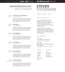 resume  collection awesome free online resume templates word free        resume  cv maker online resume for web master job with project history and skills details