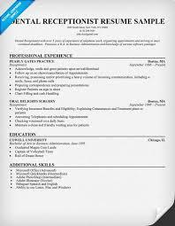 resume format receptionist  tomorrowworld coresume