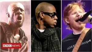 Stormzy stopped <b>Jay</b>-<b>Z</b> rapping on an Ed Sheeran song - BBC News