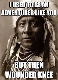 Oppressed Indian Chief memes | quickmeme via Relatably.com