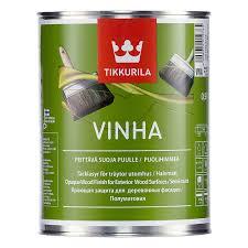 <b>Антисептик</b> для дерева кроющий <b>Tikkurila Vinha</b> база белая <b>VVA</b> ...