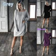 <b>Women's Fashion</b> Winter Fleece Pure Color Vintage Knitted <b>Long</b> ...