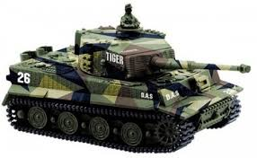 <b>Радиоуправляемый танк Great Wall</b> Toys German Tiger I масштаб ...