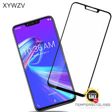 <b>2PCS Full Glue Cover</b> Glass Asus Zenfone Max M2 ZB633KL ...