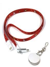 Универсальный <b>кабель</b>-<b>переходник</b> 3в1, ремешок RED, Type C + ...