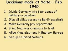 「yalta 1945 map」の画像検索結果