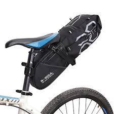 B-SOUL <b>12 L Bike</b> Saddle Bag Large Capacity <b>Waterproof</b> ...