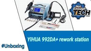 <b>YiHua</b> 992DA+ <b>rework station</b> - unboxing - YouTube