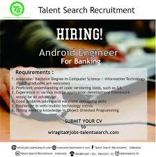 talent search recruitment linkedin drop us an email your updated cv email nitesh jobs talentsearch com call us 6287784959934 website jobs talentsearch com