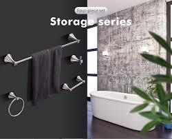 2019 <b>FLG Bathroom</b> Hardware Sets Nickel Brushed Zinc Alloy <b>Bath</b> ...