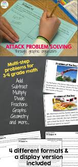 best images about math word problems grade  using graphic organizers can help struggling students attack problem solving more strategically research shows giving