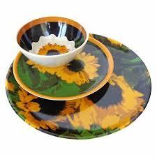 12 штук подсолнечника посуда блюдо <b>набор</b> Кемпинг <b>тарелки</b> ...