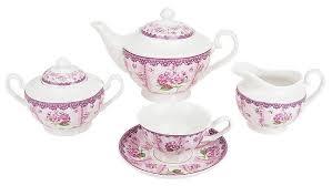 """<b>Чайный</b> сервиз <b>Nouvelle</b> De France """"Розовая гортензия"""" 15 ..."""