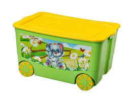 """<b>Ящик для игрушек</b> """"KidsBox"""" на колёсах"""