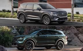 Kia Sorento vs Hyundai Santa Fe: Which <b>Korean Mid</b>-<b>Size</b> ...