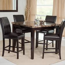 Tall Dining Room Sets Tall Kitchen Tables With Bar Corner Vanity Cabinets Potrckoco