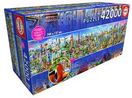 <b>Пазл Вокруг</b> Света (42000 деталей) <b>Educa</b> — купить в Москве в ...