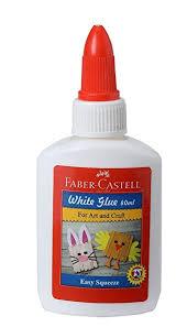 Faber-Castell <b>White Glue</b> - <b>40ml</b> (<b>White</b>): Amazon.in: Office Products