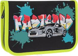 <b>Tiger Enterprise Пенал Graffiti</b> Car — купить в интернет-магазине ...