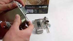 <b>FalconEye</b> FE-2369 накладной электромеханический <b>замок</b> ...