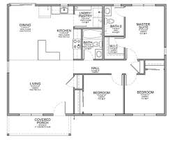 Floor Plan for Affordable   sf House   Bedrooms and    Floor Plan for Affordable   sf House   Bedrooms and Bathrooms