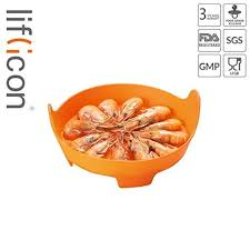 Liflicon Silicone Vegetable/Food Steamer Basket with ... - Amazon.com