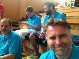 De Gauche à droite, Francesco Bruno (Venise) , Massimo Maci Zava (Milan) , Claudio Giacomini (Venise) et Bibi. - 97102749