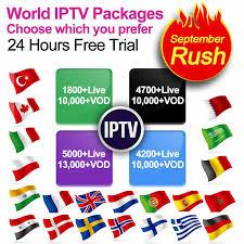 <b>IPTV</b> Subscription 1 year QHDTV <b>X96W</b> IP TV Box <b>French Arabic</b> ...