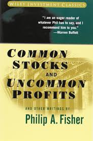 books billionaire warren buffett thinks everyone should common stocks and uncommon profits by philip fisher