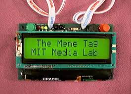 An Electronic Conference Badge using RF and IR Communications