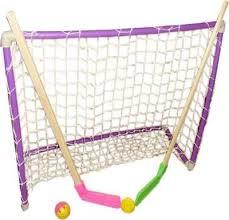 Набор хоккейный детский (2клюшки+шайба+мячик+ворота ...