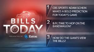 Bills Today: CBS Sports