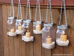 hanging mason jar garden lights adore diy hanging mason jar
