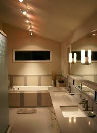 track lighting for bathroom with gorgeous look bathroom track lighting ideas
