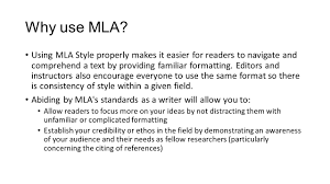 google docs and mla format freshman english bootcamp ppt why use mla